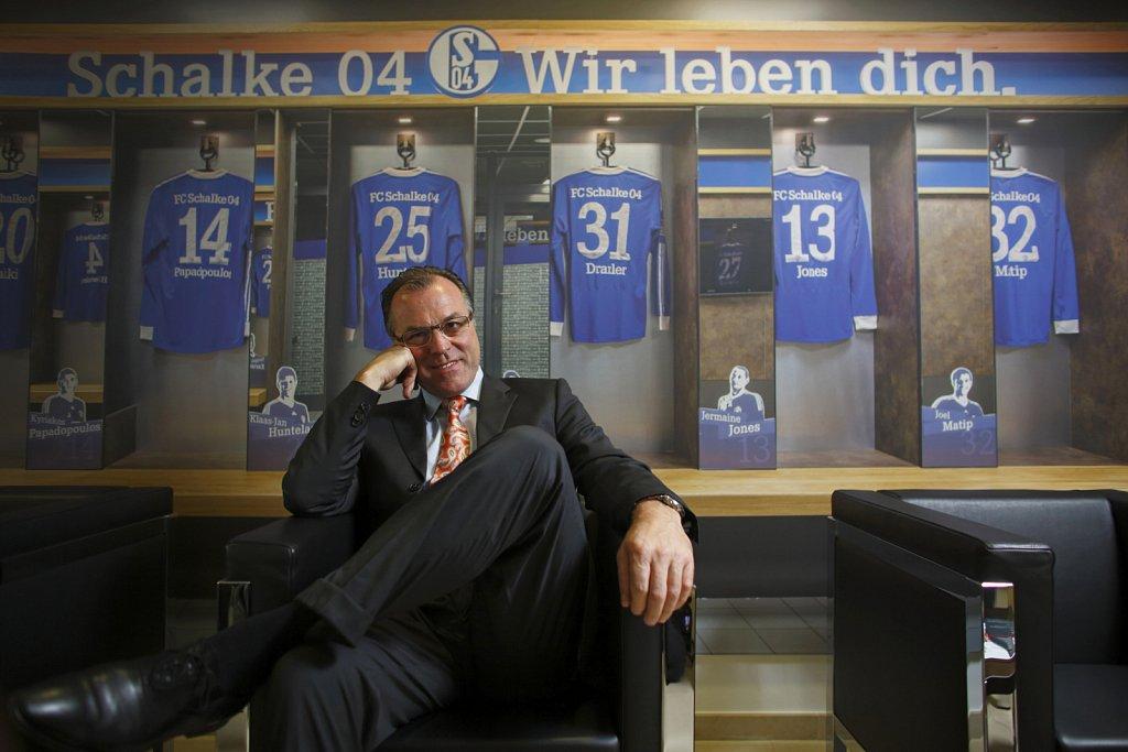 Clemens Toennies, Aufsichtsratsvorsitzender des FC Schalke 04.