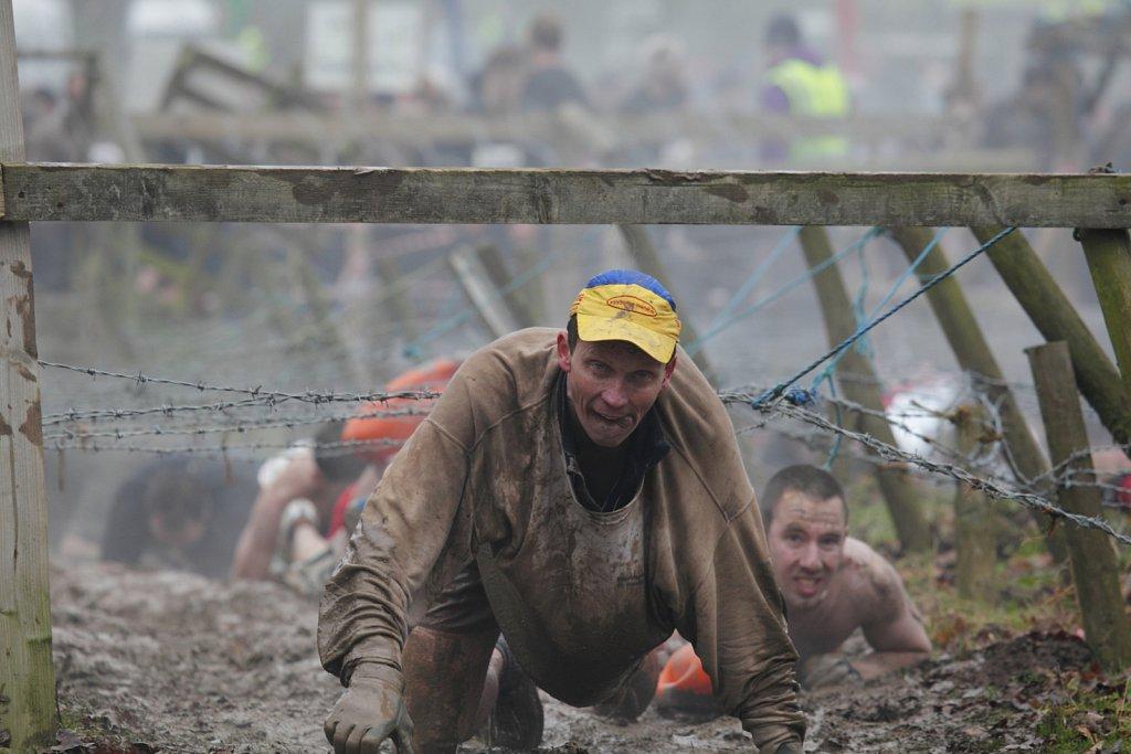 Tough Guy Rennen in England